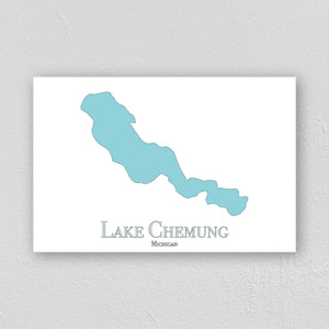 Lake Chemung Wall Print