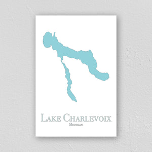 Lake Charlevoix Wall Print