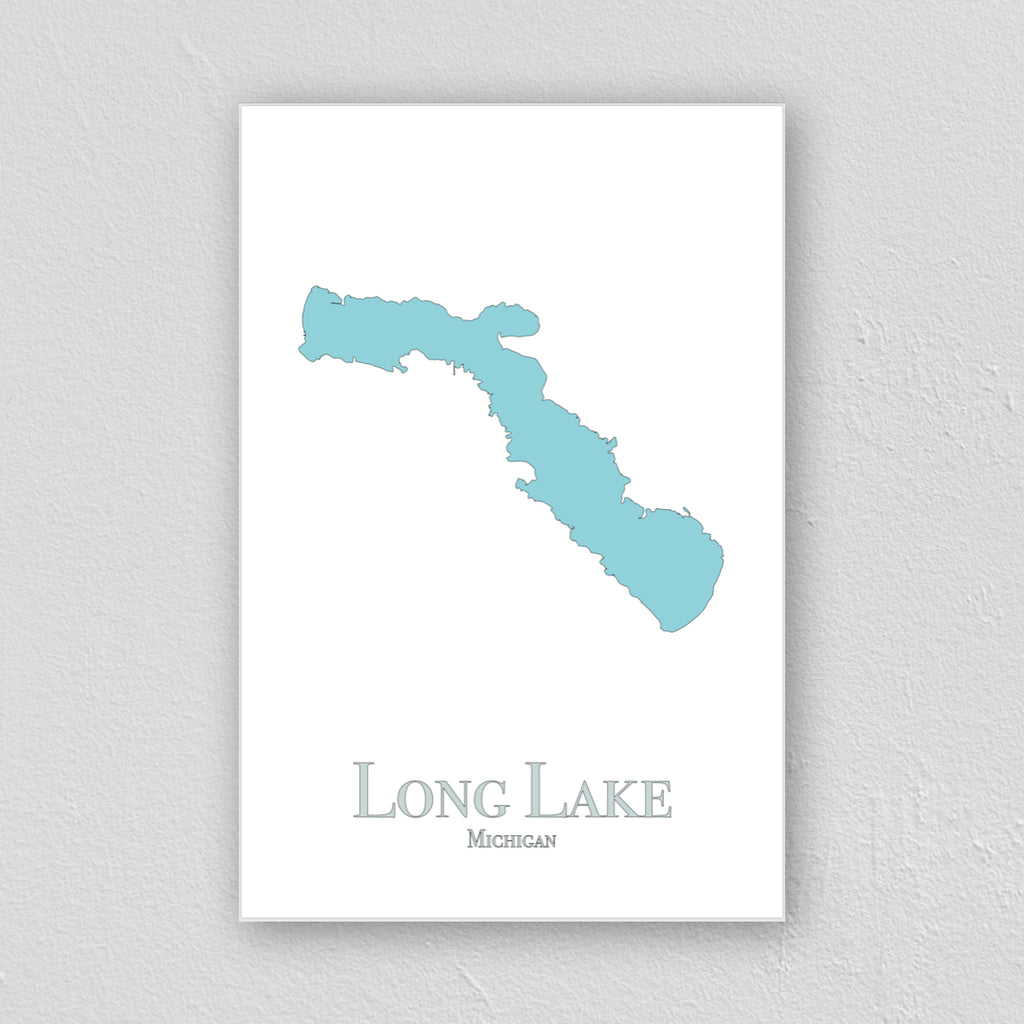 Long Lake (Alpena) Wall Print