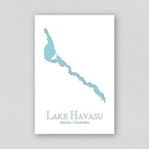 Lake Havasu Wall Print