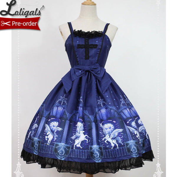 Time Guardiance  ~ Sweet Lolita JSK Dress by Soufflesong