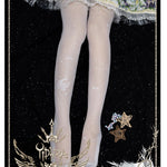 Stars On The sky Lolita ~ Sweet Lolita Tights Sheer Summer Pantyhose by Yidhra
