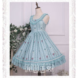 Flowery Wall ~ Sweet Printed Lolita JSK Dress by Strawberry Witch
