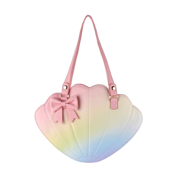 Sweet Ombre Gradient Shell Lolita Shoulder Bag Cross Body Bag by LovelyLota