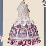 The Circus ~ Sweet Printed Lolita JSK Dress Sleeveless Party Dress by Infanta