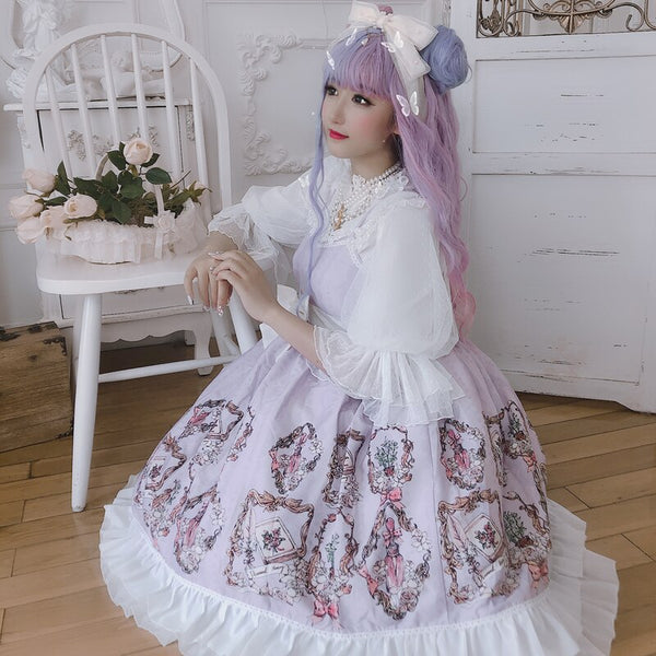 Antique Perfume Bottle ~ Sweet Lolita JSK Dress by Diamond Honey