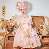 Sweet Cream ~ Sweet Short Sleeve Lolita Casual Dress