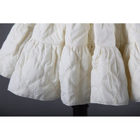 Thick Short A line Petticoat for Winter Cotton Padded Underskirt by Classical Puppets