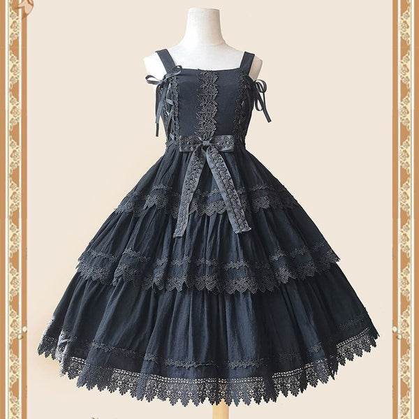 Sweet Layered Lolita JSK Dress Classic Party Dress by Infanta