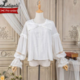 Lady's Room ~ Long Sleeve Lolita Blouse by Alice Girl ~ Pre-order