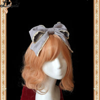 Broken Doll ~ Gothic Printed Lolita Headpiece by Infanta