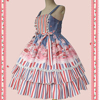 Strawberry Buffet ~ Sweet Lolita JSK Dress by Infanta
