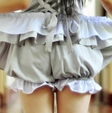 Sweet Cosplay Lolita Bloomers Shorts for Girl Summer Chiffon Shorts