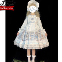 Lady's Room ~ Vintage Long Sleeve Lolita Dress by Alice Girl ~ Pre-order