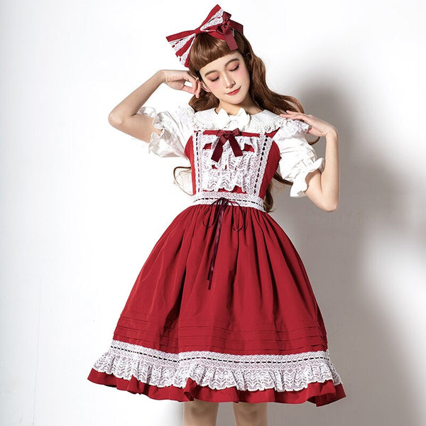 Classic Lolita JSK Dress Short Party Dress by Magic Tea Party