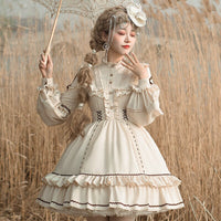 Classic Lolita Dress 2 Way Country Style Party Dress