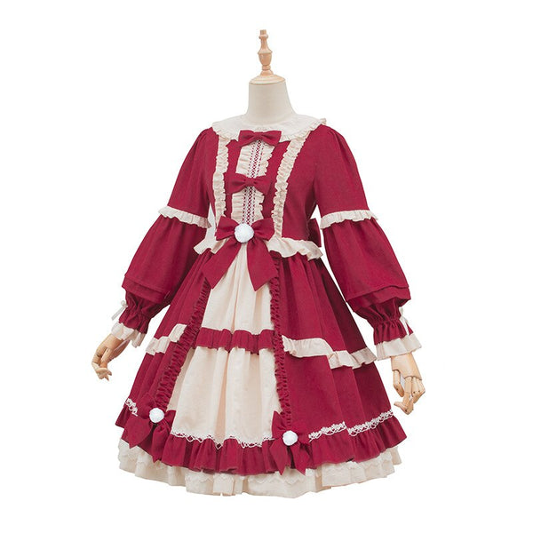 The Girl from Fairy-tale ~ Classic Princess Lolita Dress Sweet Party Dress