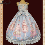 Cake Salon ~ Sweet Lolita Mini Dress Casual JSK Dress by Infanta