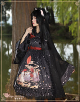 Rainy & Sunny Day ~ Kimono Style Lolita JSK Dress by Magic Tea Party
