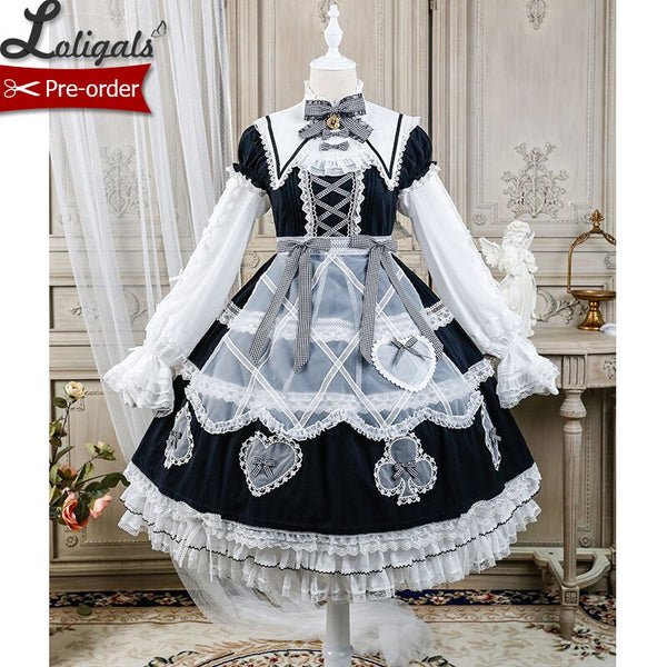 Lady Alice ~ Sweet Short Sleeve Lolita OP Dress by Alice Girl ~ Pre-order
