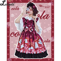 Polar Bear's Summer ~ Sweet Printed Lolita JSK Dress Sleeveless Summer Dress by Magic Tea Party