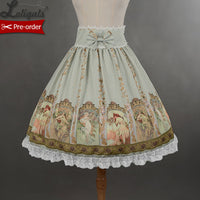 Empire Waist Mucha Skirt Sweet Printed Lolita Skirt for Girl by Soufflesong