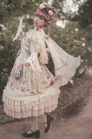 Fairy Tale Town Party ~ Sweet Printed Lolita JSK Dress by Infanta ~ Pre-order