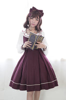 Classic Sailor Style Lolita JSK Dress Idol College Series Sleeveless Dress by Soufflesong
