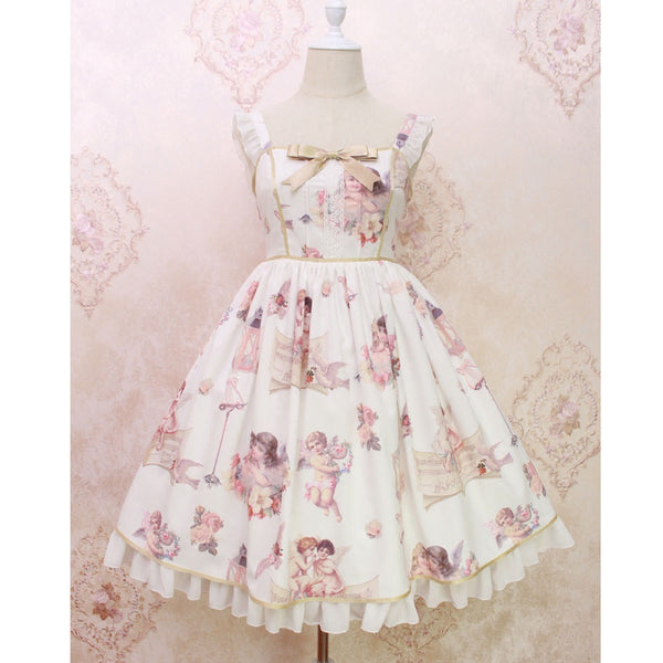 Angel's Voice ~ Sweet Printed Lolita JSK Midi Dress by Alice Girl ~ Pre-order
