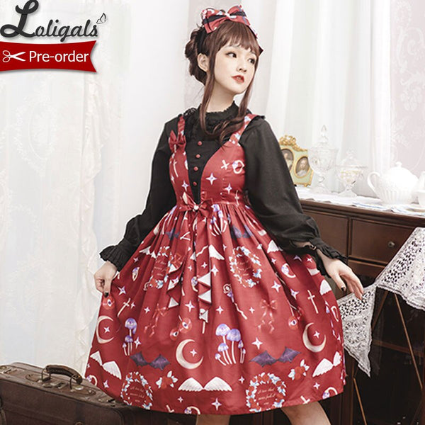 The Little Devil ~ Sweet Lolita Casual Summer JSK Dress by Magic Tea Party ~ Pre-order