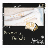 Dream Tarot ~ Patterned Lolita Tights 120D White Pantyhose