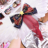 Sweet Lolita Wings Feather White Cosplay Wings w. Veil Party Costume Wing