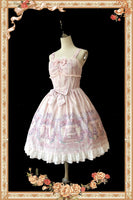 Princess' Room~ Sweet Printed Lolita JSK Dress & Headpiece by Infanta