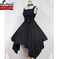 The Concerto of Spirits ~ Gothic Lolita Dress Short Corset Dress by Soufflesong