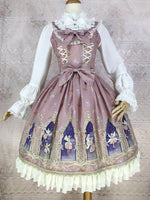 Elf of Dream ~ Sweet Printed Lolita JSK Chiffon Dress by Yiliya