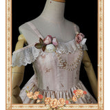 Thread Puppet ~ Sweet Printed Lolita JSK Dress by Infanta