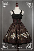Soufflesong Lolita Dress [The Universal Guardian] Printed JSK Dress