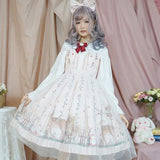 Forest Whispering ~ Sweet Printed Lolita JSK Dress Sleeveless Party Dress