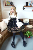 Swan Lake ~ Thick Velvet Lolita Jumper Skirt for Girl Short Skirt
