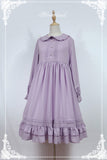 Rose Marry Classic Lolita Dress Long Sleeve Midi Dress by Soufflesong ~ Pre-order