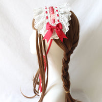 Sweet Desert Lolita Headband Lace Hair Accessories by Alice Girl ~ Pre-order