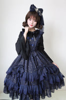 Twinkling Stars ~ Sweet Women's Chiffon Dress Lolita JSK by Soufflesong