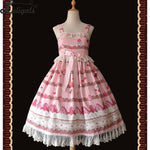 Sweet Strawberry ~ Sweet Printed Lolita Casual Dress by Infanta