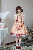 Strawberry and Cookies ~ Sweet Printed Lolita JSK Dress by Alice Girl ~ Pre-order