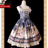 Astrology Bear ~ Sweet Printed Lolita JSK Dress by Infanta ~ Pre-order