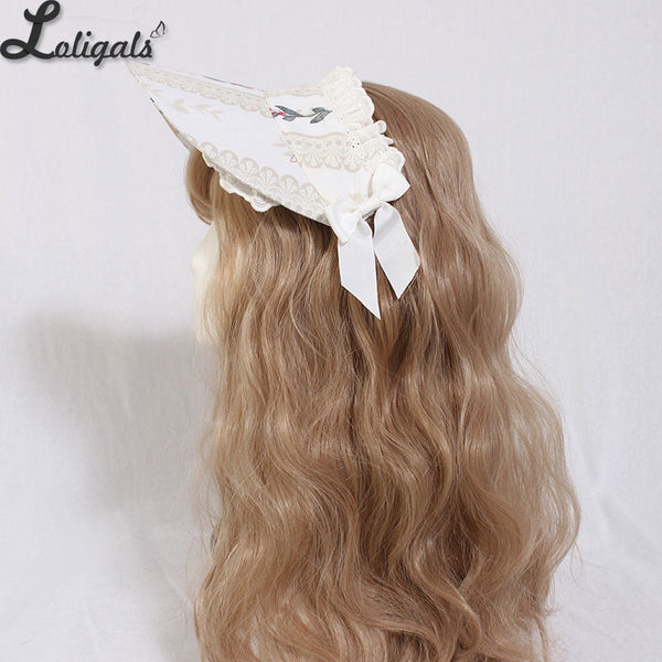 Cage in Dream ~ Sweet Lolita Bonnet by Alice Girl ~ Pre-order