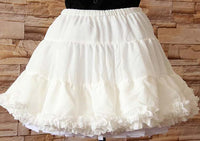 Sweet White Soft Five Layer Lolita Petticoat /Tutu Skirt