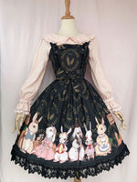Bunnys' Harvest Season ~ Sweet Printed Lolita JSK Dress by Yiliya