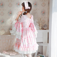 Swan Lake ~ Sweet Flare Sleeve Lolita Party Dress by Magic Tea Party