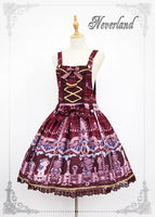 The Chocolate Bear ~ Sweet Printed Lolita JSK Dress by Soufflesong